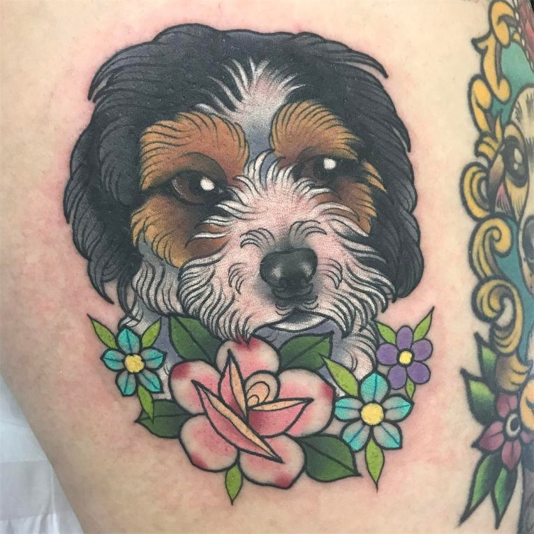 Dog Tattoo 81