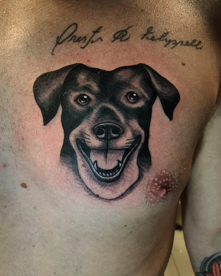 Dog Tattoo 84