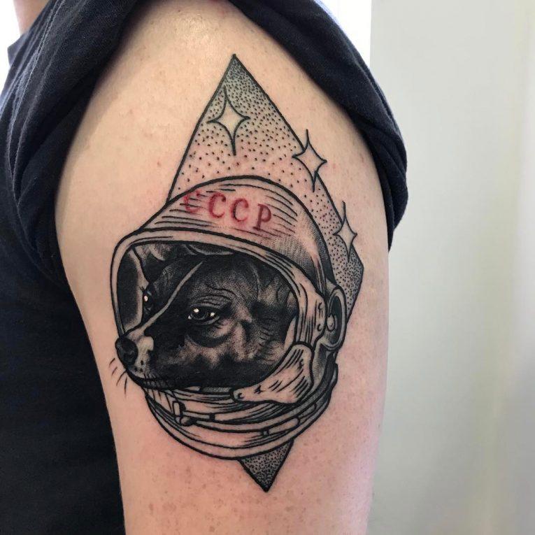 Dog Tattoo 87