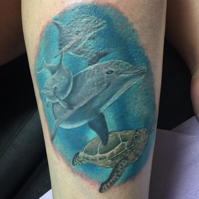Dolphin Tattoo 53