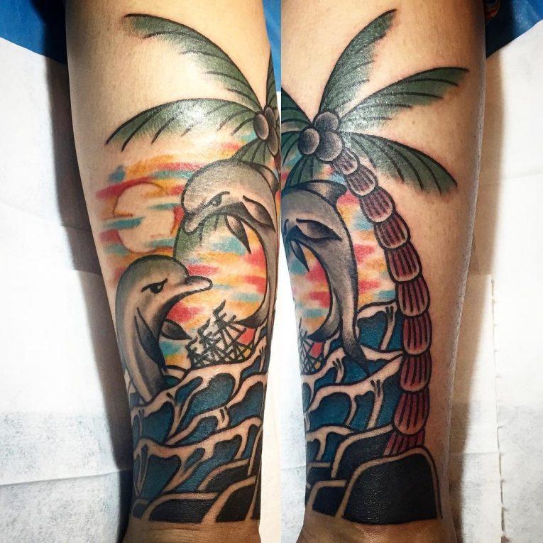 Dolphin Tattoo 66