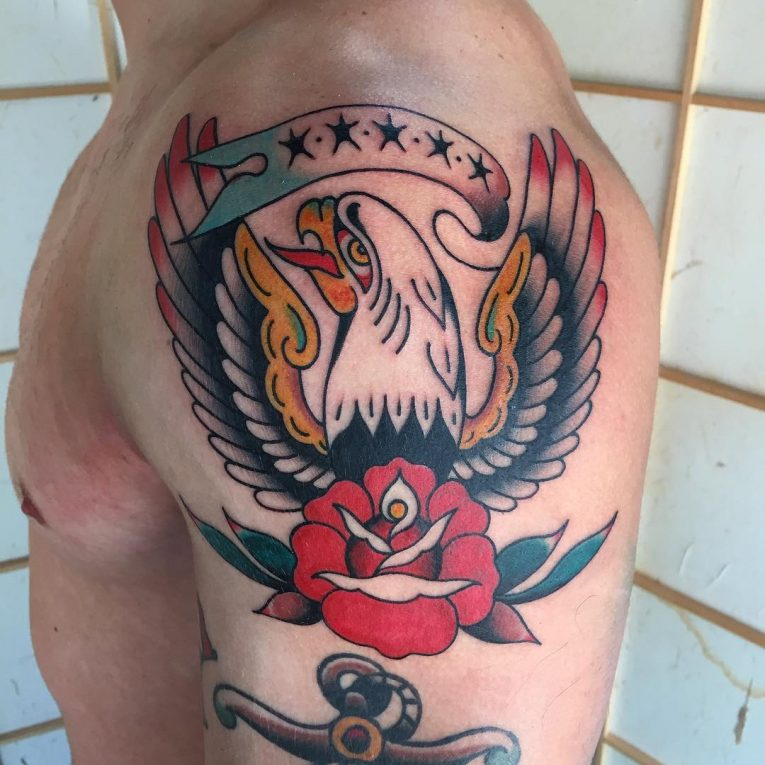 Eagle Tattoo 100