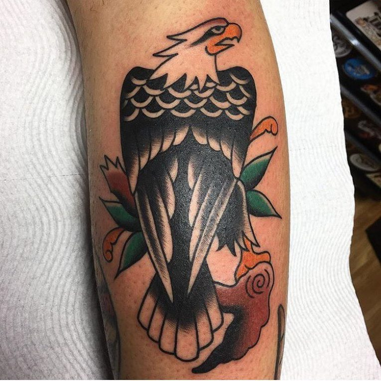 Eagle Tattoo 102