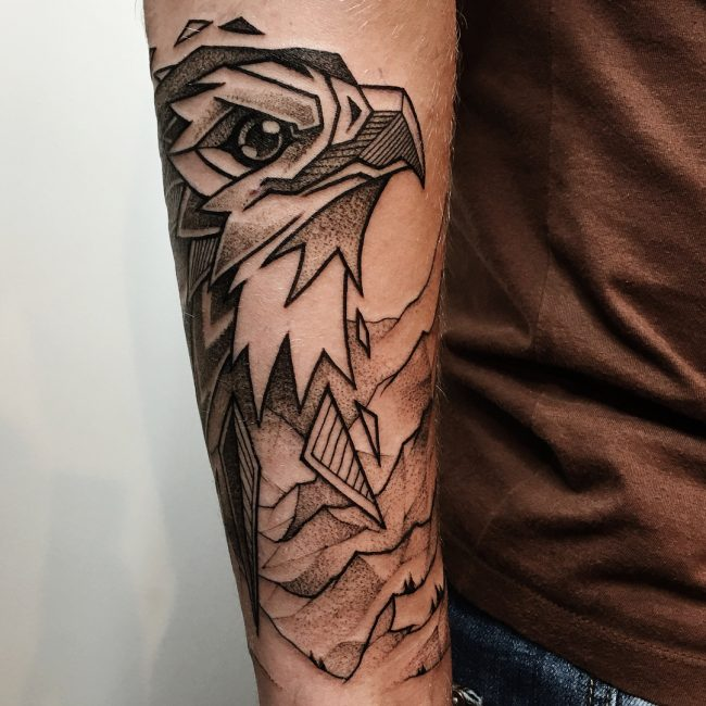Eagle Tattoo 81