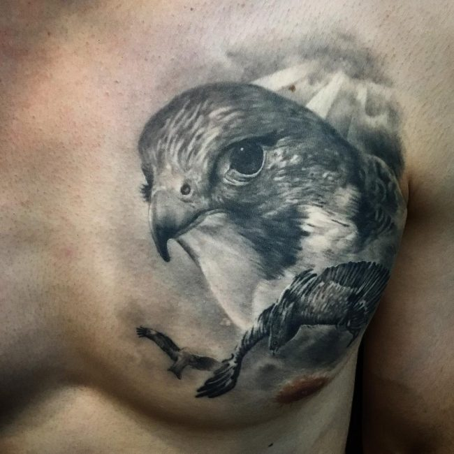 Eagle Tattoo 83