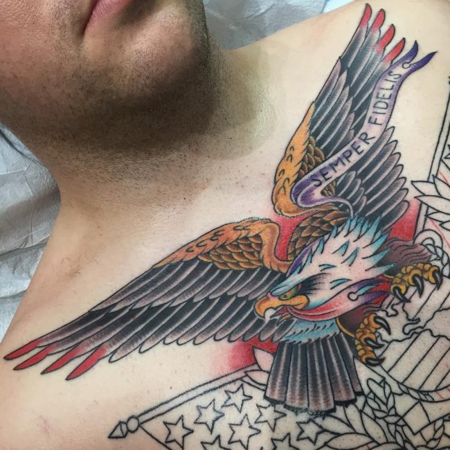 Eagle Tattoo 89