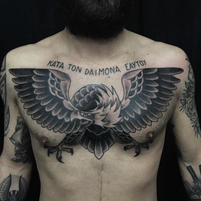 Eagle Tattoo 90