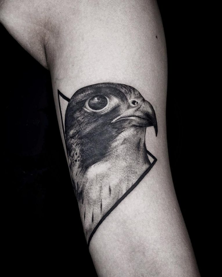 Eagle Tattoo 91