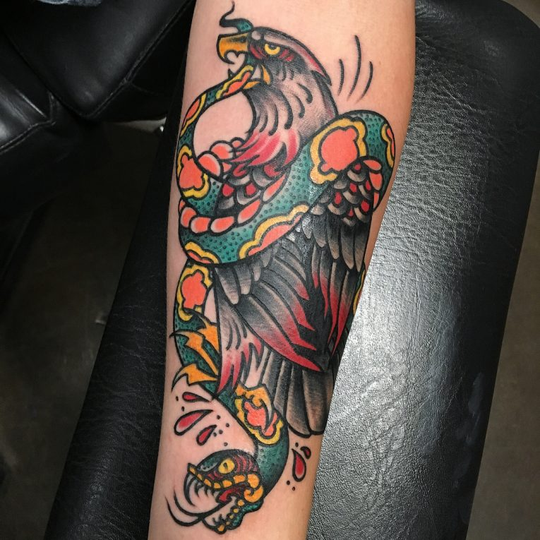 Eagle Tattoo 93