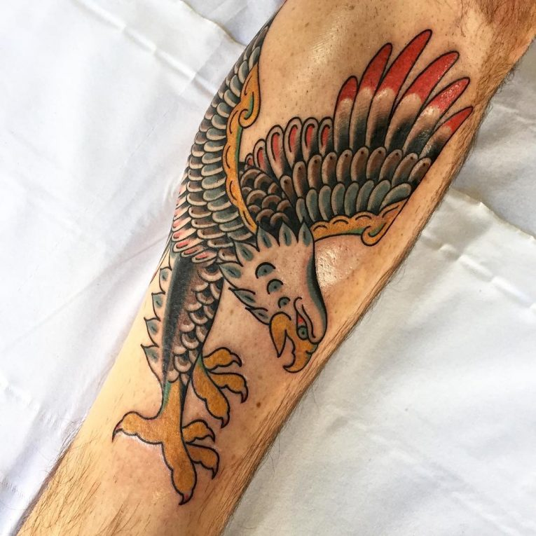 Eagle Tattoo 97