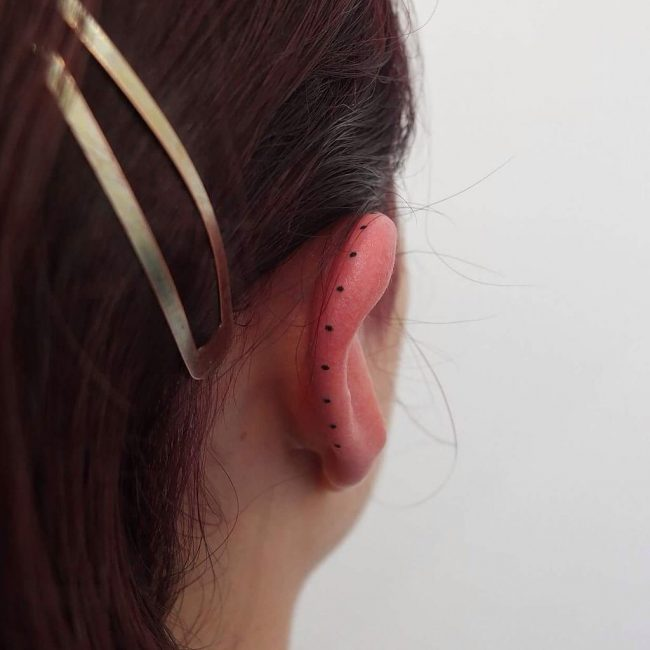 Ear Tattoo 38