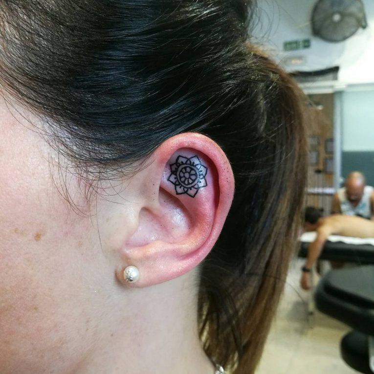 Ear Tattoo 46