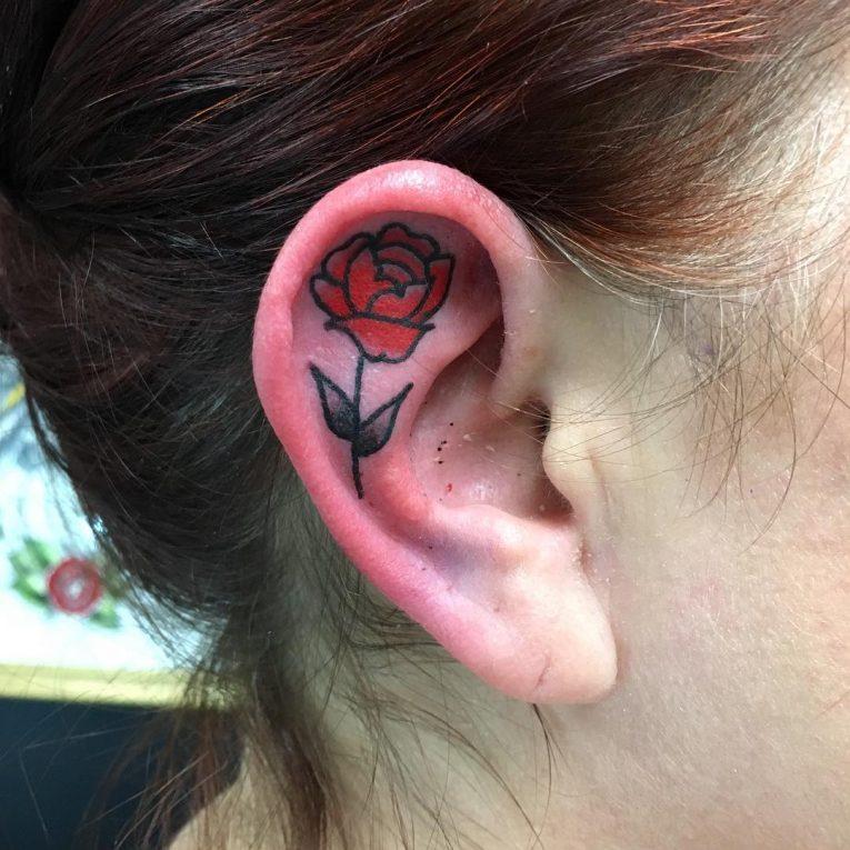 Ear Tattoo 49