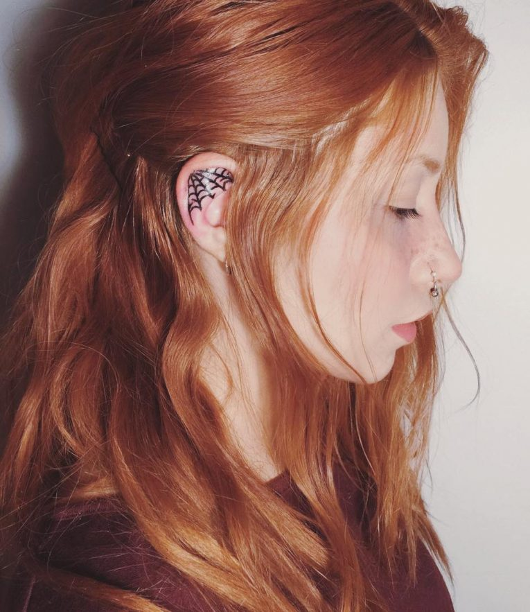 Ear Tattoo 51
