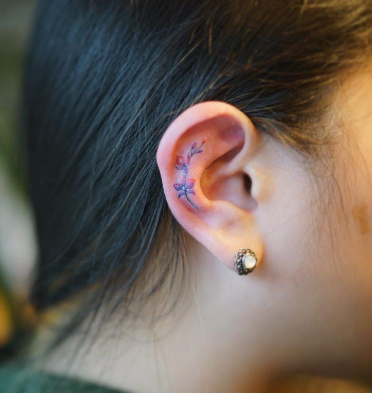 Ear Tattoo 52