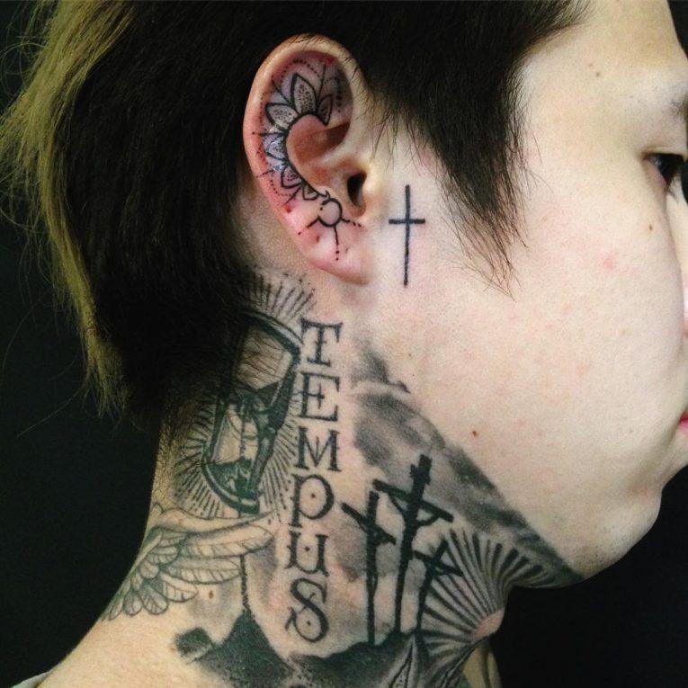 Ear Tattoo 55