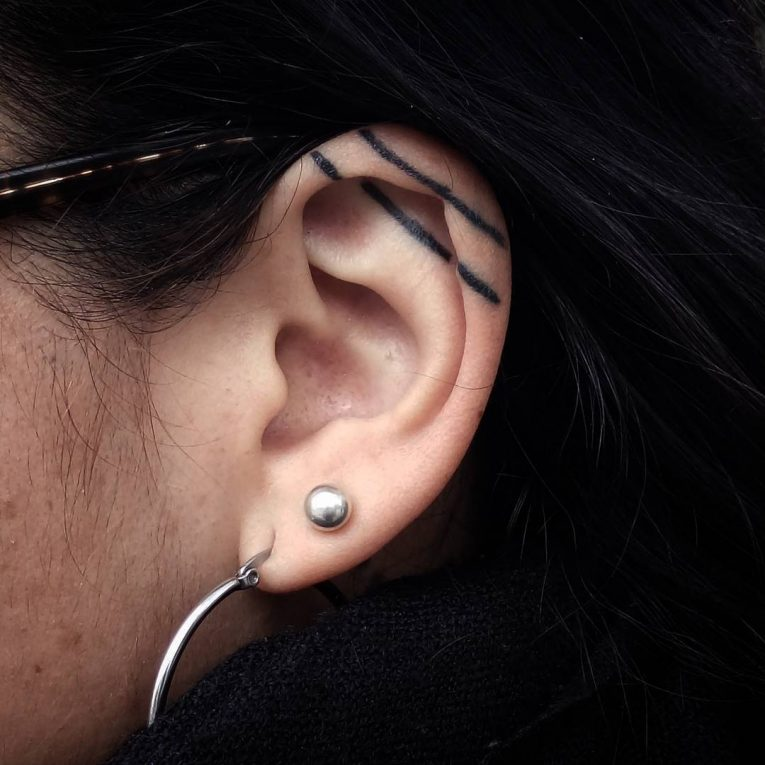 Ear Tattoo 57