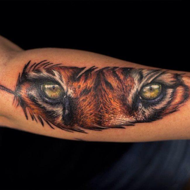 Feather Tattoo 56