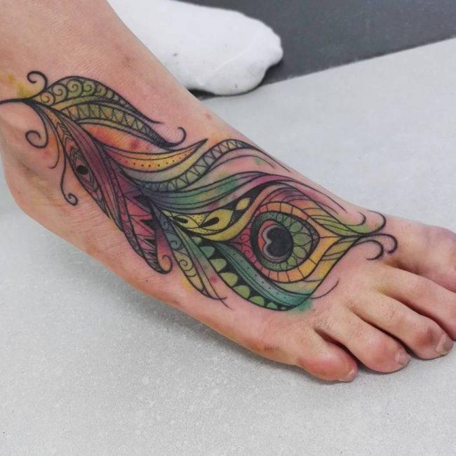 Feather Tattoo 60