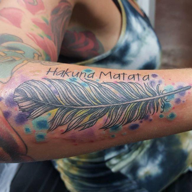 Feather Tattoo 62