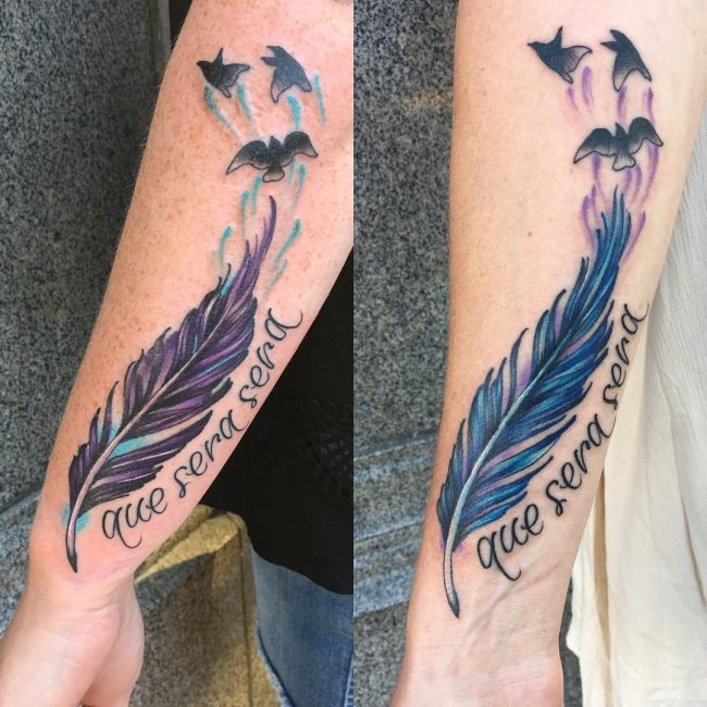 Feather Tattoo 64