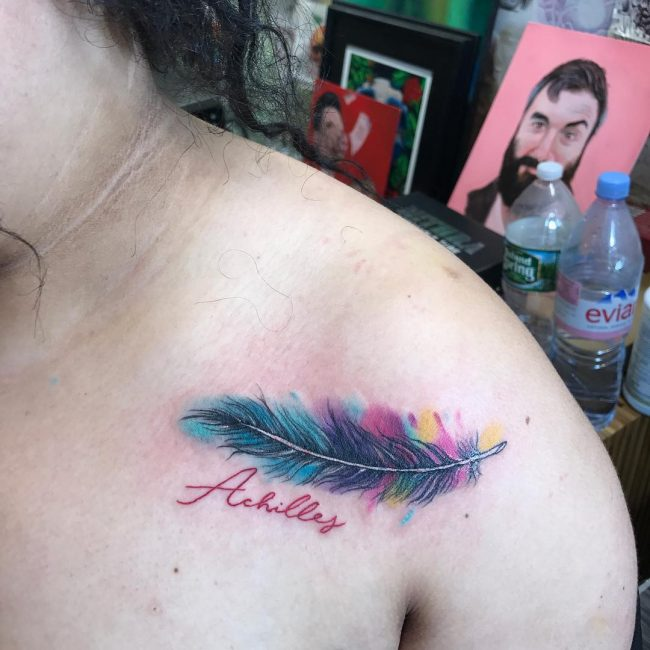Feather Tattoo 65