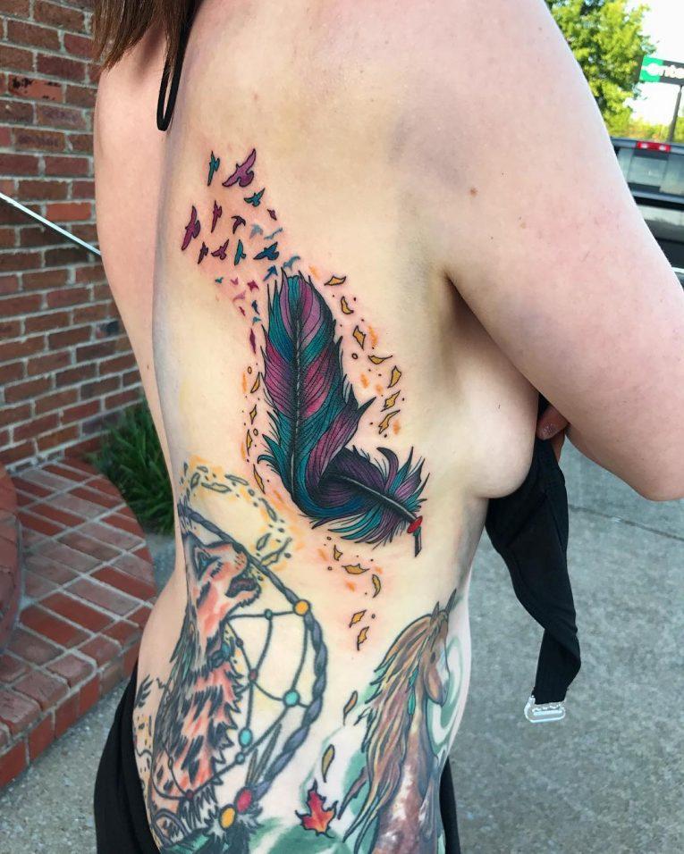 Feather Tattoo 68