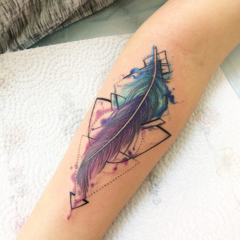 Feather Tattoo 72