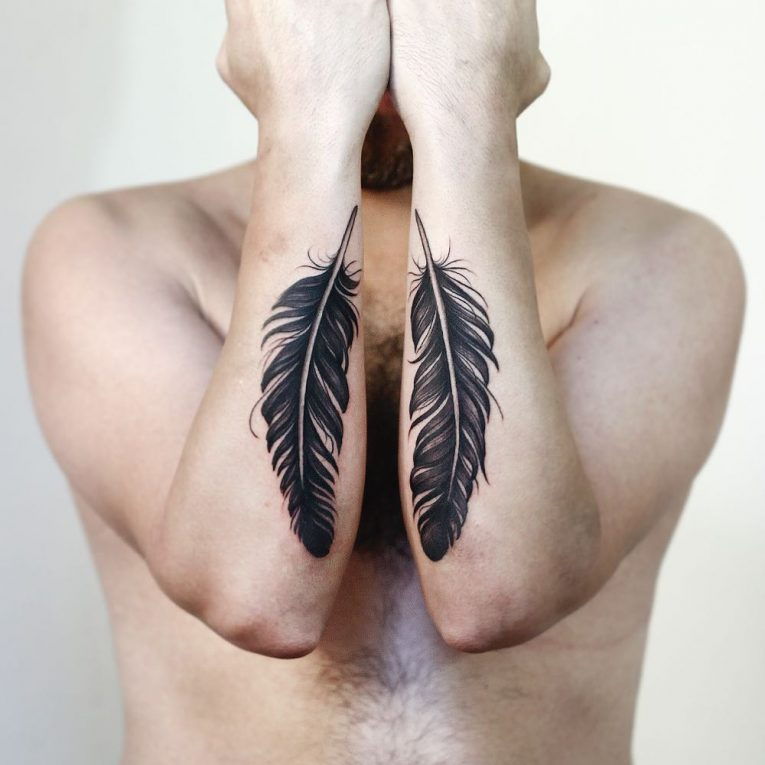 Feather Tattoo 75