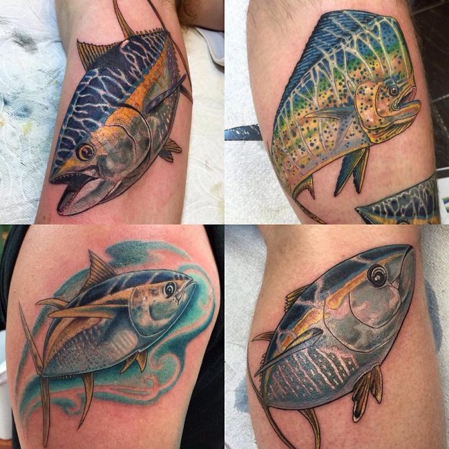 Fish Tattoo 60