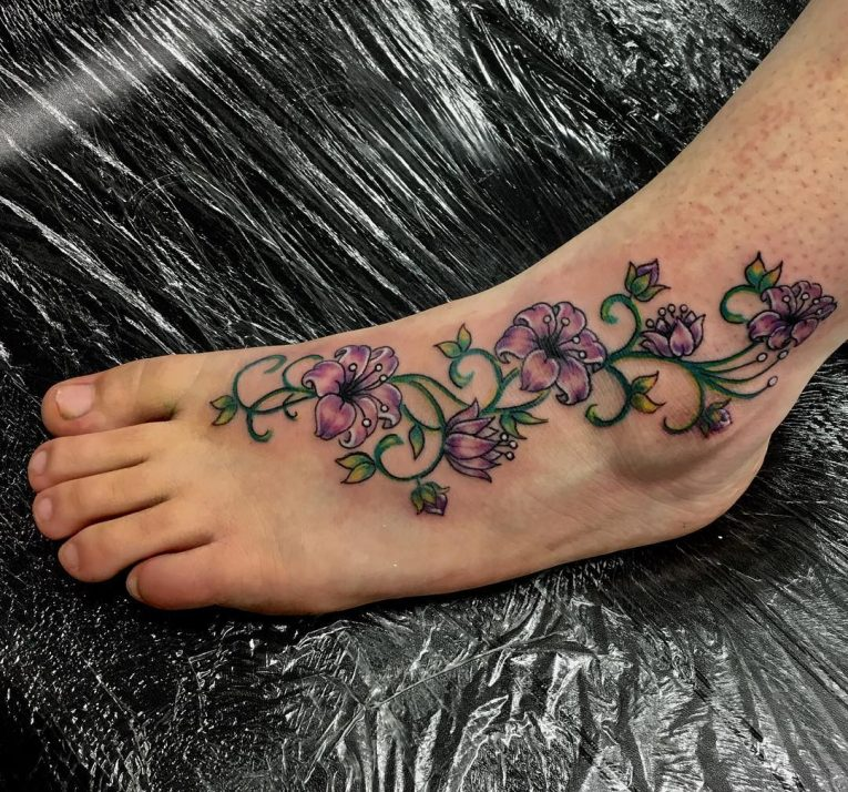 Foot Tattoo 101