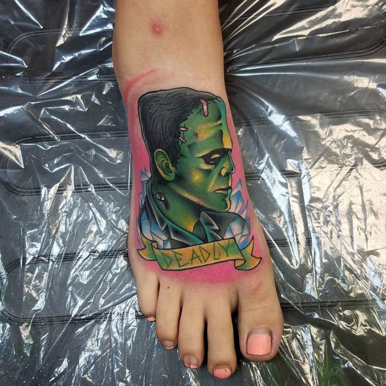 Foot Tattoo 102