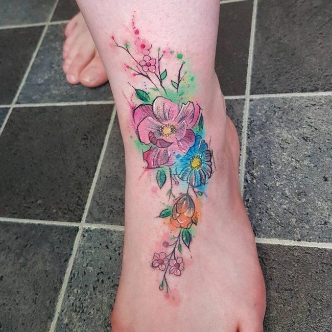 Foot Tattoo 81