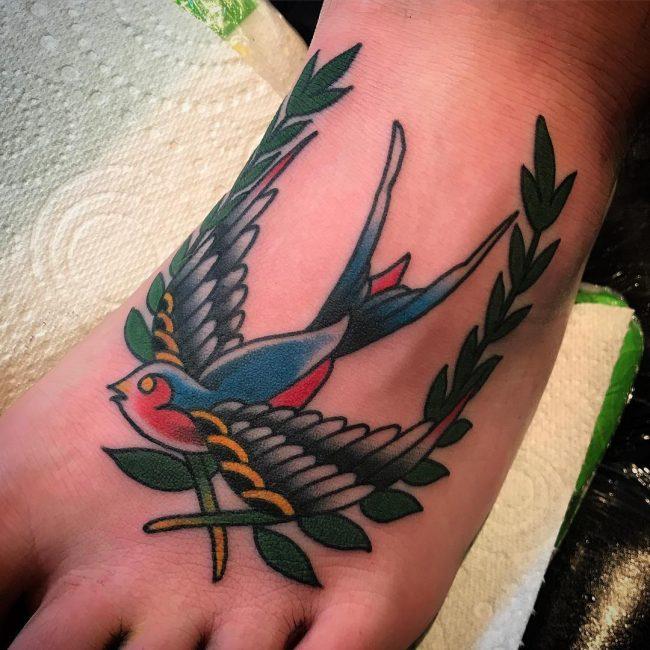 Foot Tattoo 83