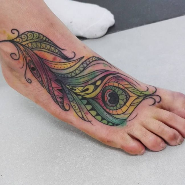 Foot Tattoo 84