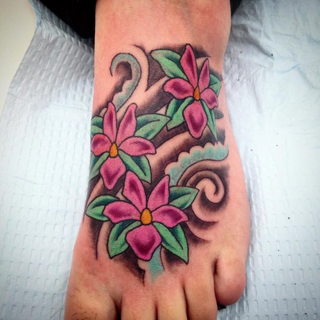 Foot Tattoo 87