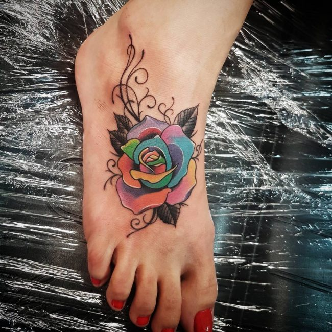 Foot Tattoo 88