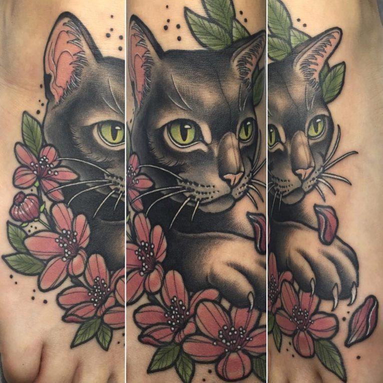 Foot Tattoo 91