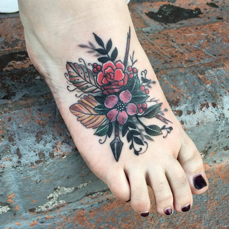 Foot Tattoo 94
