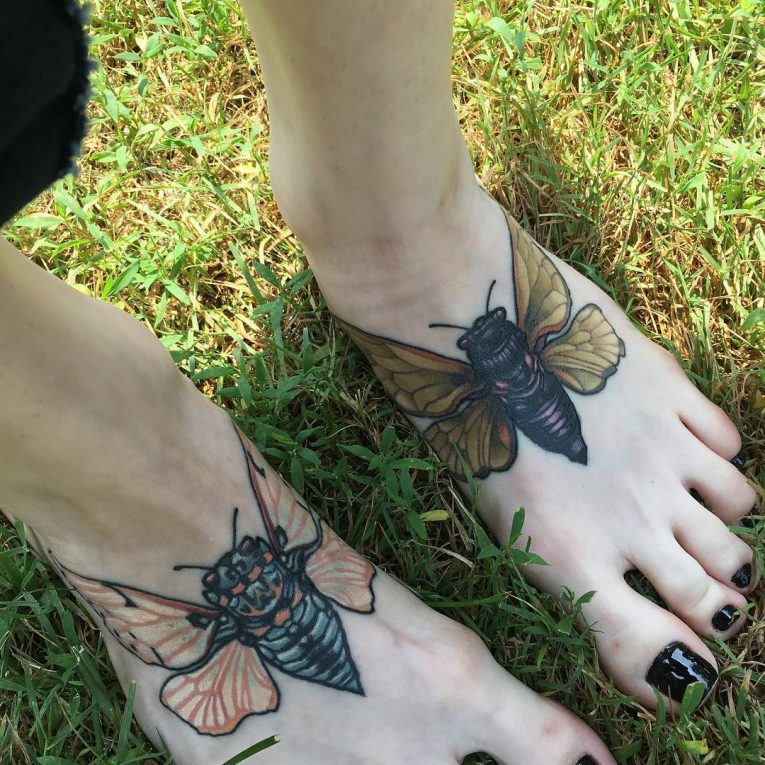 Foot Tattoo 95
