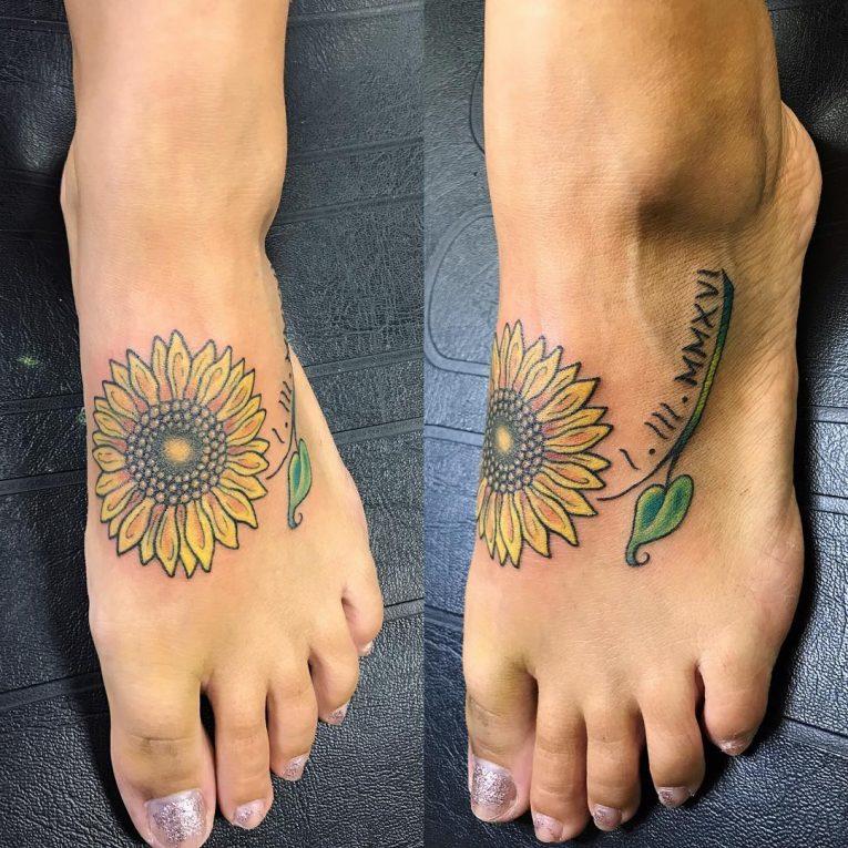 Foot Tattoo 97