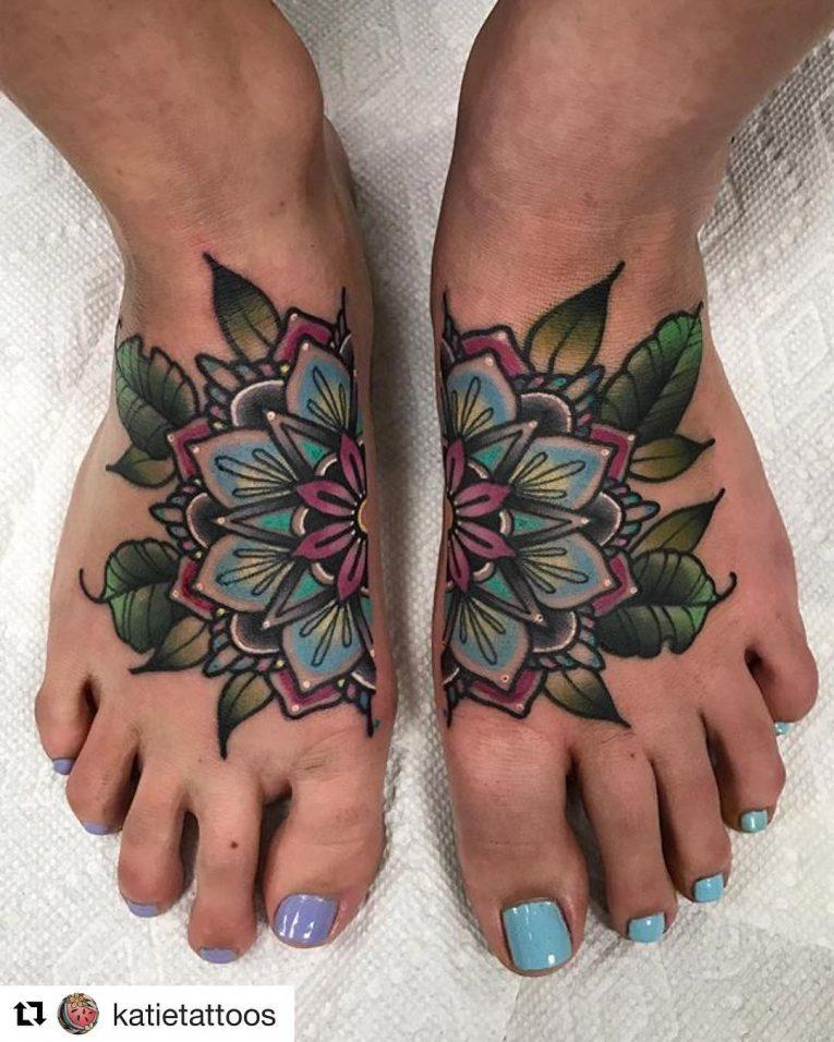Foot Tattoo 99