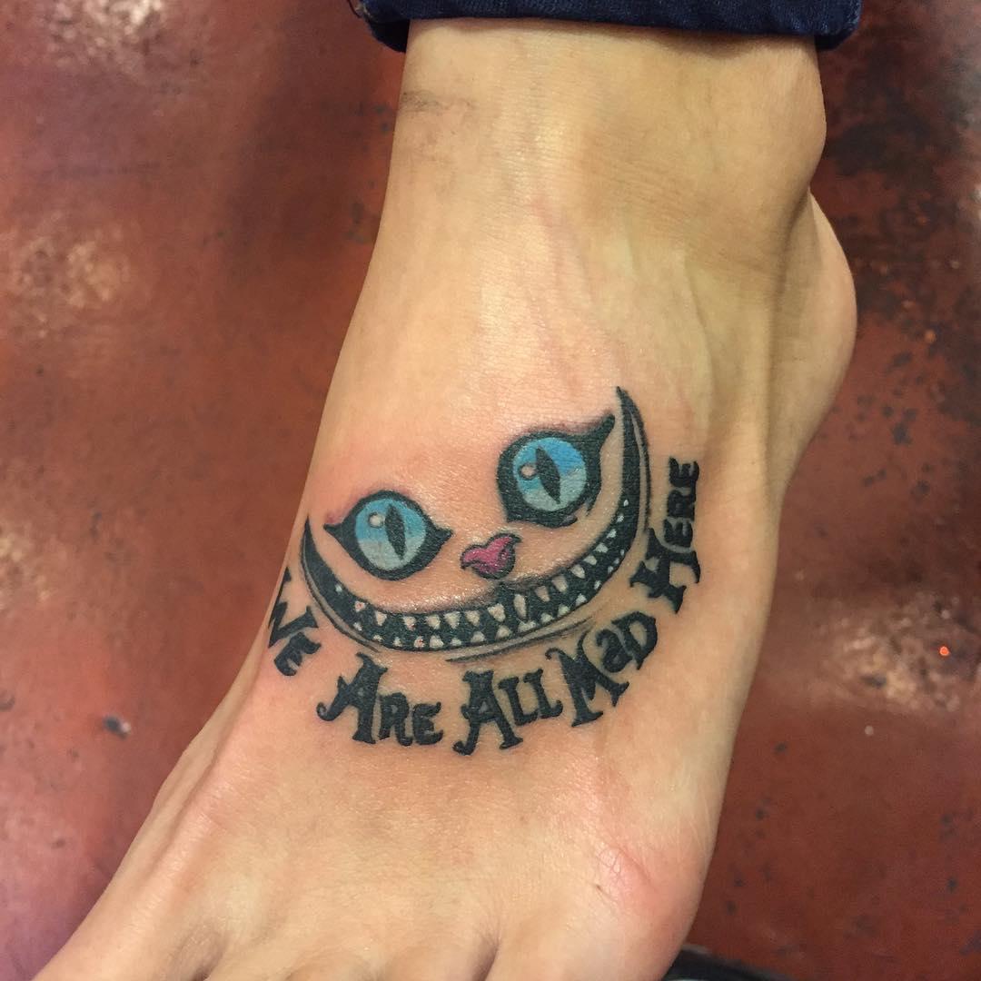 32 Foot Tattoo Designs Ideas