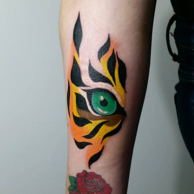 Forearm Tattoo 86