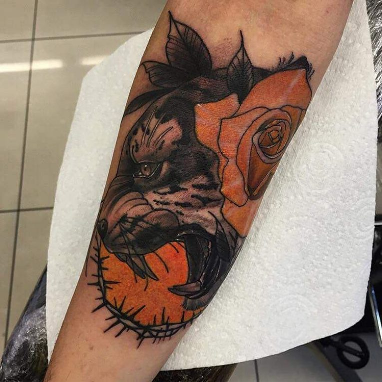 Forearm Tattoo 92
