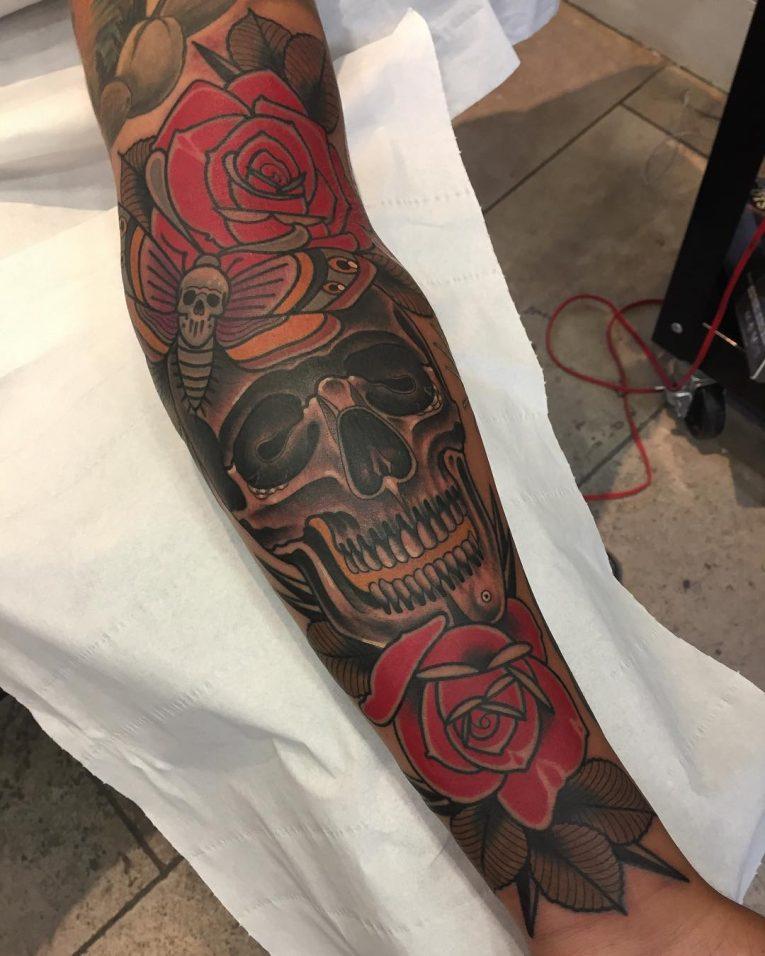 Forearm Tattoo 93