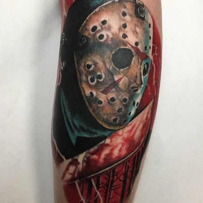 Friday the 13th Tattoo 55