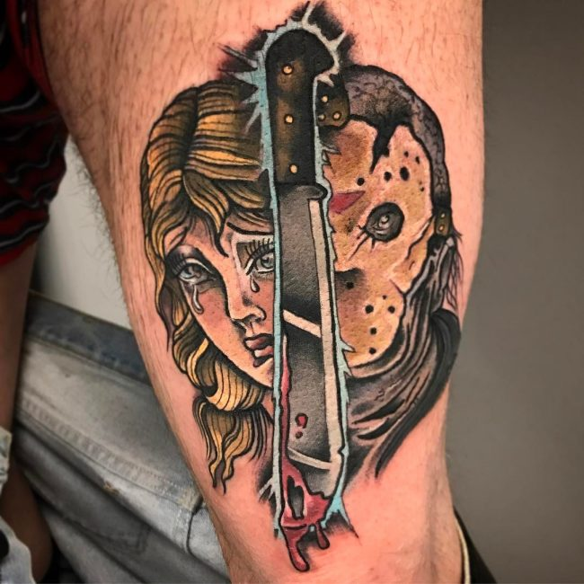 Friday the 13th Tattoo 56