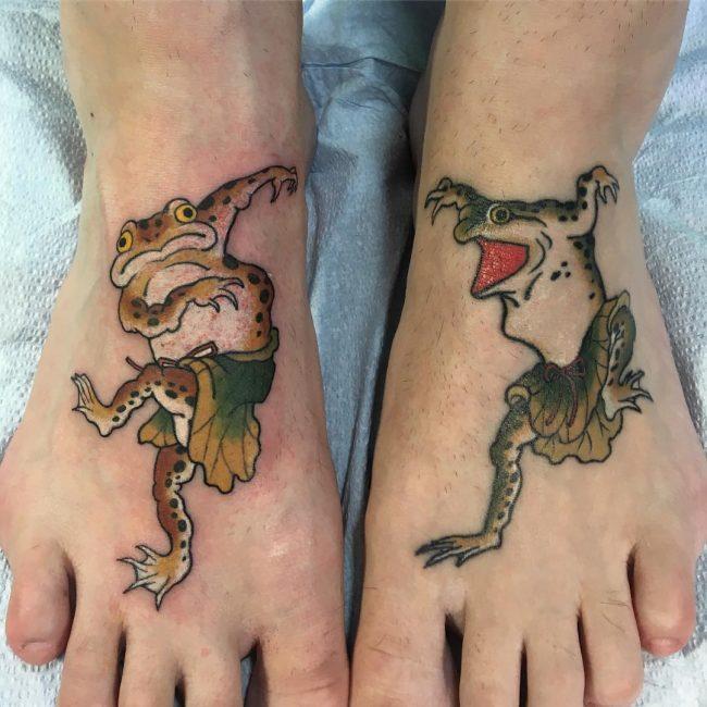 Frog Tattoo 61