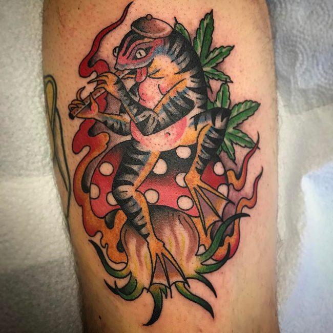 Frog Tattoo 64